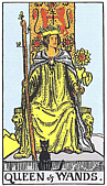 Queen of Wands - Ruth Marks